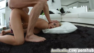 Ass Traffic Rough anal leads to double cum swallow