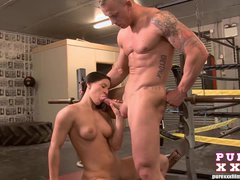 PURE XXX FILMS Athina Loves the Gym