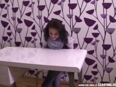 Preview 3 of Czasting - Pretty Czech Brunette At Casting