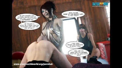 3D Comic: Legacy. Episode 27. When the laughter stops...