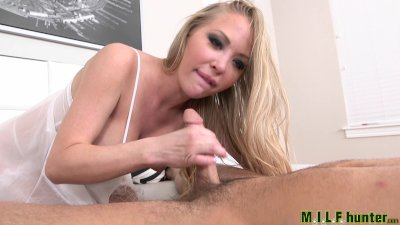 Milf Hunter - Dirty milf shows off her new outfit