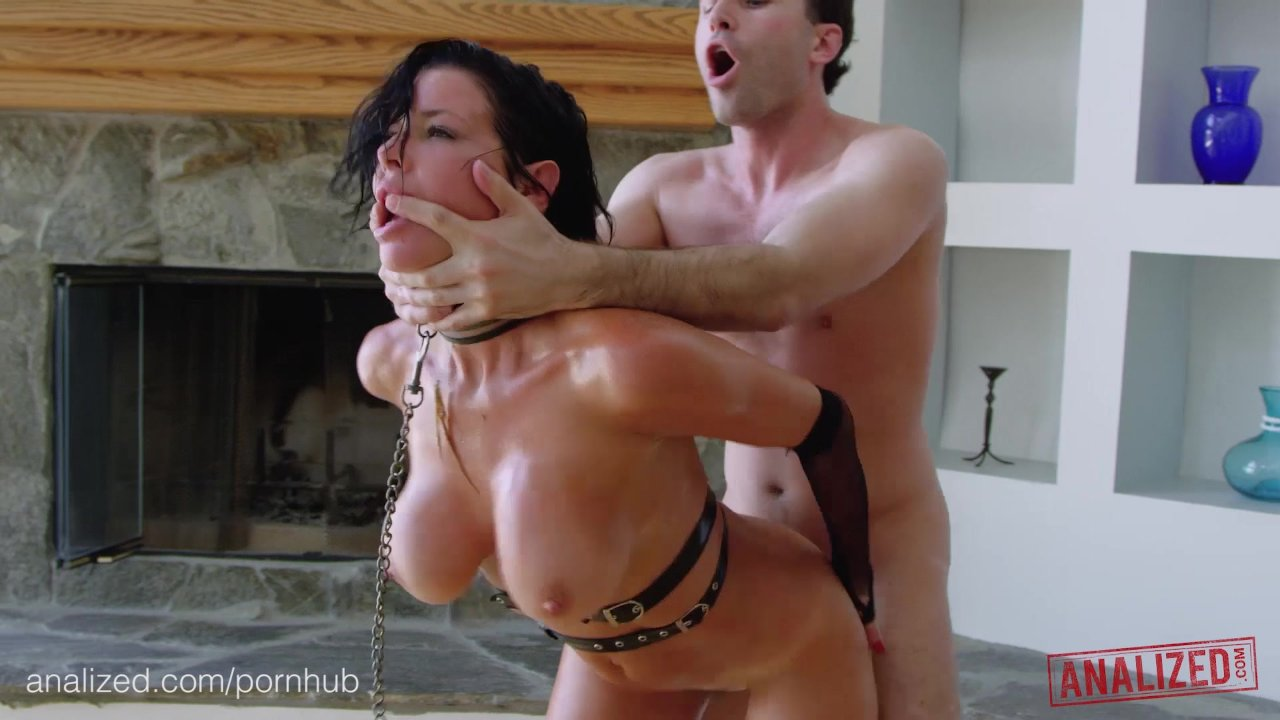 Anallized Porn analized - veronica avluv's milf ass double stuffed with huge cocks