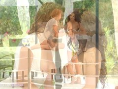 Preview 2 of Sapphic Vacation By Sapphic Erotica - Victoria Daniels And Billie Star Lesb