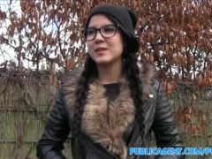 Preview 1 of Publicagent Emo Chick Has Sex In The Woods