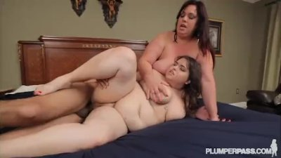 Step Mom and Daughter In-Law Double Team Huge Cock