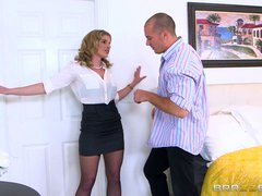 Preview 1 of Cory Chase Cheats On Her Husband - Brazzers