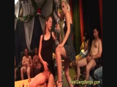 Preview 2 of Extreme German Gangbang Fuck Orgy