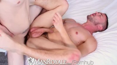 ManRoyale - Kip pounds Colt Rivers tight ass
