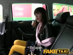 Preview 1 of Faketaxi Hot Asian Babe Banged On Taxi Backseat