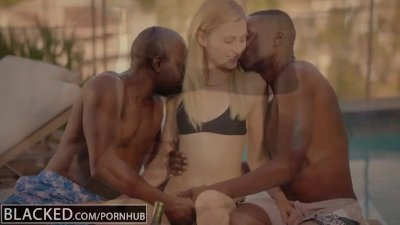 pornhub Interracial trio