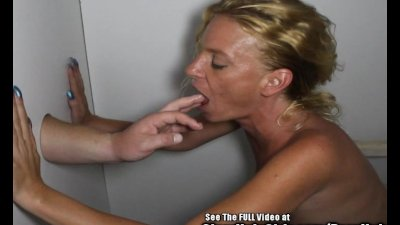Blondie Petite MILF Glory Hole Cock Sucker