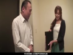 Hitomi Kanou  horny nun in love with cock and hard sex