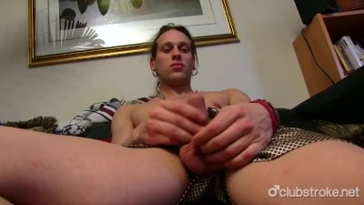 Sexy Straight Nikka Masturbating His Cock