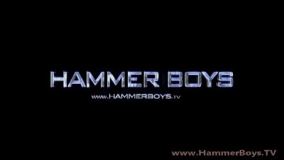In shower - Pavel Parduba from Hammerboys TV