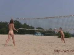 More beach nudist video it is a non nude beach