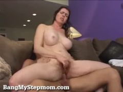 Preview 7 of Busty Redhead Milf Seduces Her Stepson!