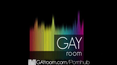 GayRoom - Jock Is Almost Too Big For That Hole