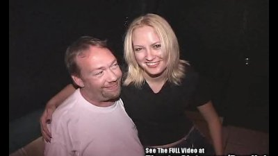 Smiley Blonde Bitch Gang Fucke