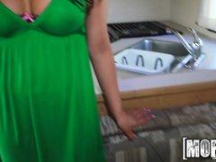 Mofos - Busty Brunette Slipped the D