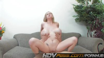 Busty Katie Kox Hammered By Young Bull