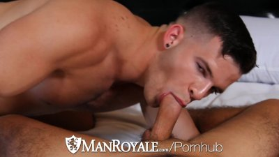 ManRoyale - Angel Rocks Huge Cock Slams Dylan Drive