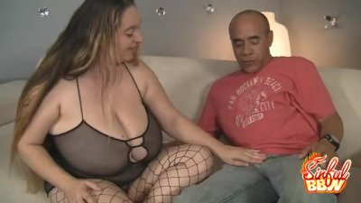 BBW Honey April Mackenzie Titty Fucking