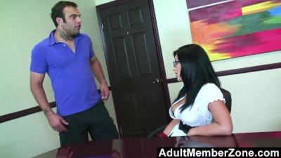 AdultMemberZone - A Massage Gets This Busty Babe Horny as Fuck
