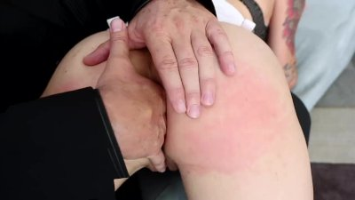 Dana fucked on a couch wearing