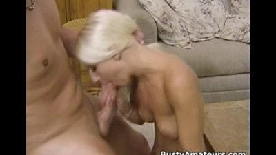 Busty amateur Sammy on 69 and