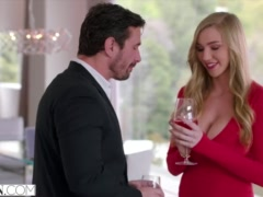 Preview 4 of Vixen Kendra Sunderland Has Sexecutive Meeting With Her Boss