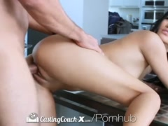 CastingCouch-X - Teen Alina Li's First Audition For Porn