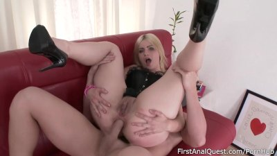 First Anal Fuck with an Innocent Slavic Coed Blonde – FirstAnalQuest