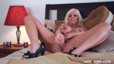 Busty Britney Amber's Screaming Orgasm
