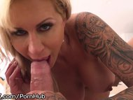 hardx cougar sucks balls and does anal povPorn Videos