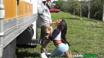Mofos - Mixed Race Hottie's Public Pick-Up