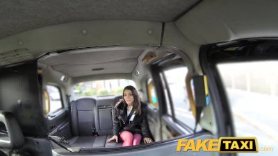 FakeTaxi Italian beauty gets deep anal sex