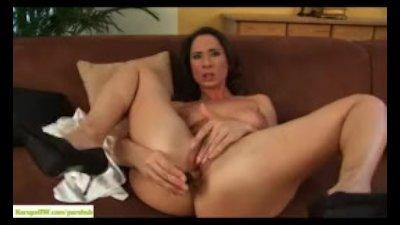 Pepper Ann Dildos Her Mature Ass