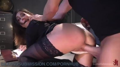 Inexperienced Cop Gets Hardcore Anal Fucking