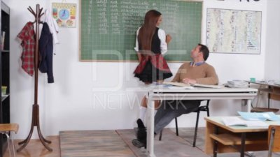 School Girl Alexis Brill Fucked in Class