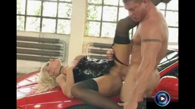 Stacy Silver always want to get fucked at the sports car