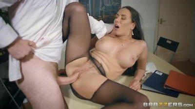 Jizz faced european anal