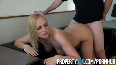 PropertySex - Hot blonde real