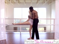Preview 1 of Petiteballerinasfucked- Tiny Elsa Jean Interracial Bbc Fuck