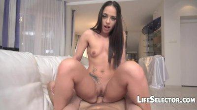 Horny girl Nomi Melon loves blowjob