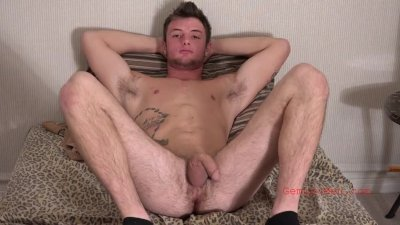 Alex\'s Audition- Young Straight Man Shows Cock, Ass, and Jerks Off