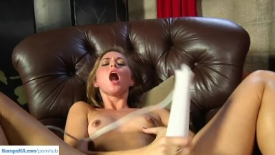 Riley Reid Magic Wand Orgasm