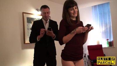 Fingerfucked sub slut punished