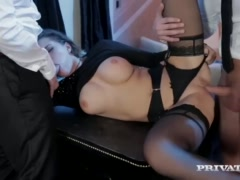 Preview 6 of Perky Tit Anna Polina Gets Some Rough Dp