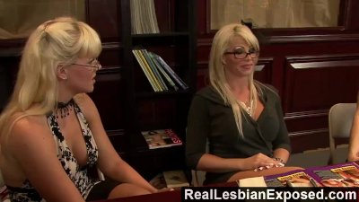 RealLesbianExposed - These babes know how to make their pussy cum