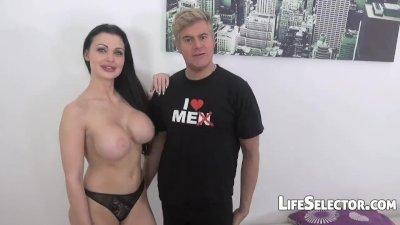 Porno Dan\'s Big Black Cock Challenge